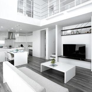 ホワイトを基調としたスタイリッシュな空間