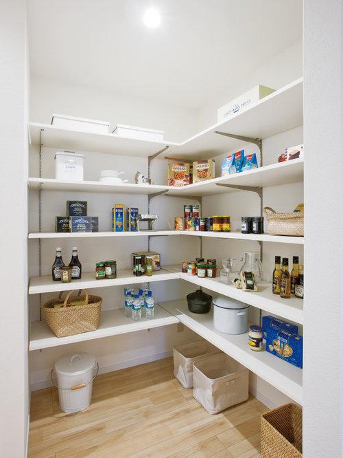 1 933 modern kitchen pantry design ideas remodel for Minimalist pantry design