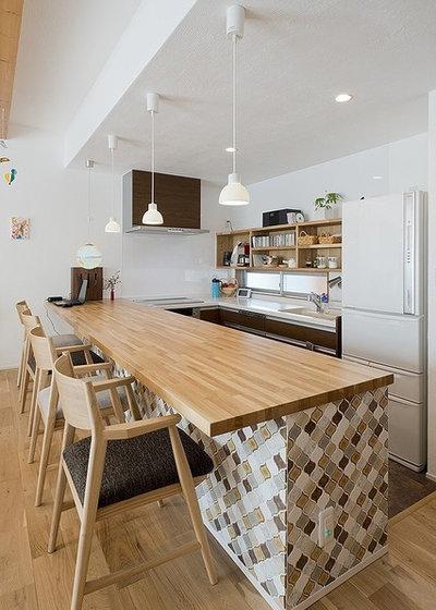 北欧 キッチン by SALAD HOME