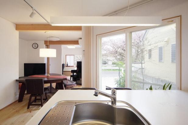 和室・和風 キッチン by ATELIER TAMA アトリエ珠一級建築士事務所