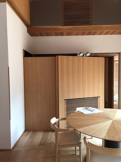 モダン キッチン by KEN YOKOGAWA ARCHITECT & ASSOCIATES INC.