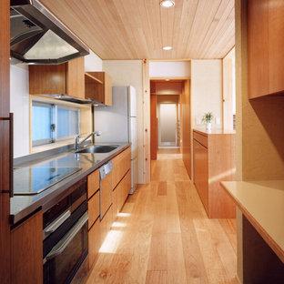 名古屋の和風のおしゃれなキッチンの写真