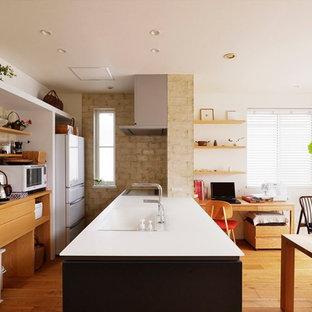 北欧スタイルのおしゃれなキッチンの写真