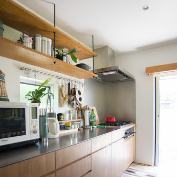 土間キッチンの家