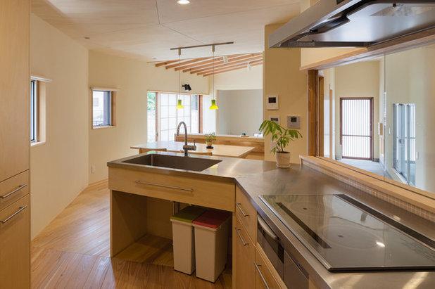和室・和風 キッチン by 相川 佐藤 建築設計事務所