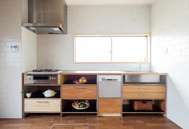 コンテンポラリー キッチン by 西谷隆建築計画事務所