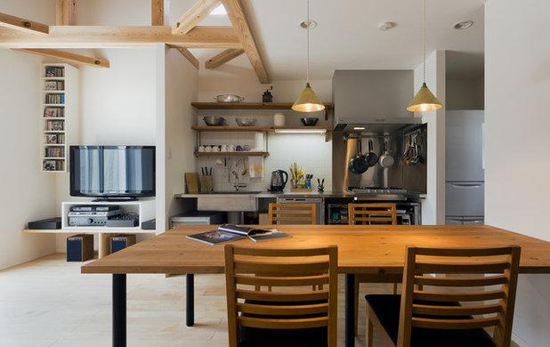 コンテンポラリー キッチン by 斉藤建築設計室