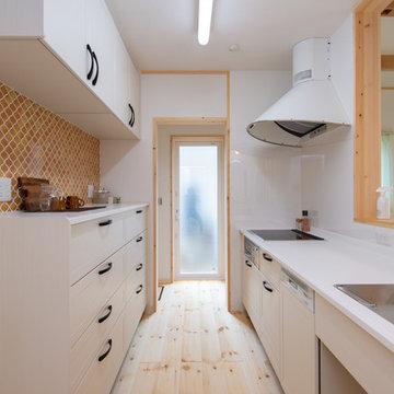 家庭用エアコン1台の全館空調・自然素材の家 三重県鈴鹿市みのや