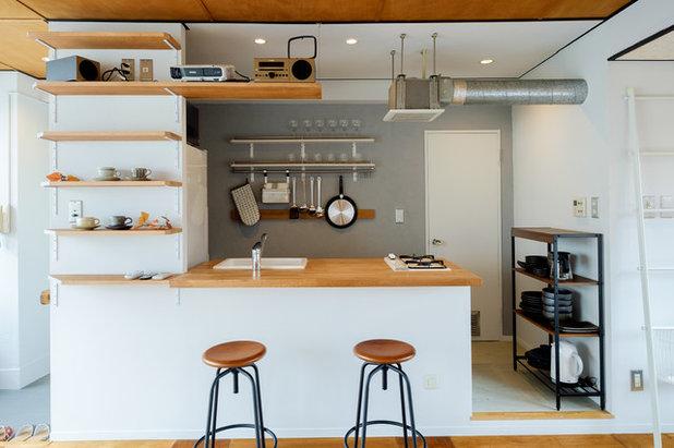 コンテンポラリー キッチン by &lodge inc.