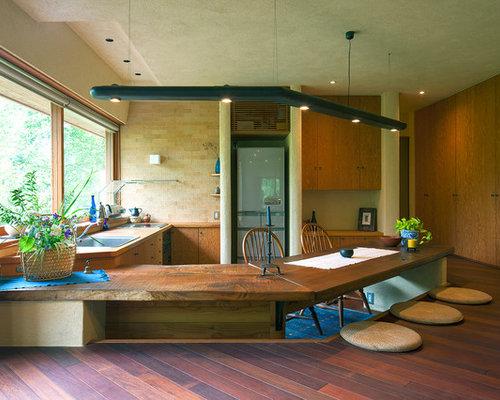 asiatische wohnk chen ideen bilder houzz. Black Bedroom Furniture Sets. Home Design Ideas