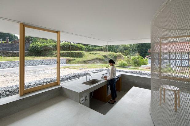 コンテンポラリー キッチン by SUPPOSE DESIGN OFFICE Co., Ltd.