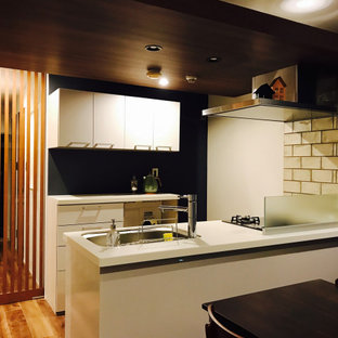 Inspiration for a midcentury kitchen in Tokyo.