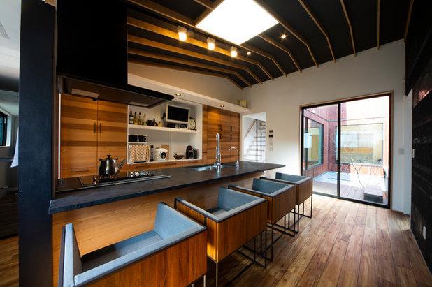 コンテンポラリー キッチン by HOUSE ZEN 一級建築士事務所