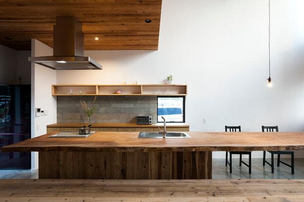 アジアン キッチン by ツクリト建築設計事務所