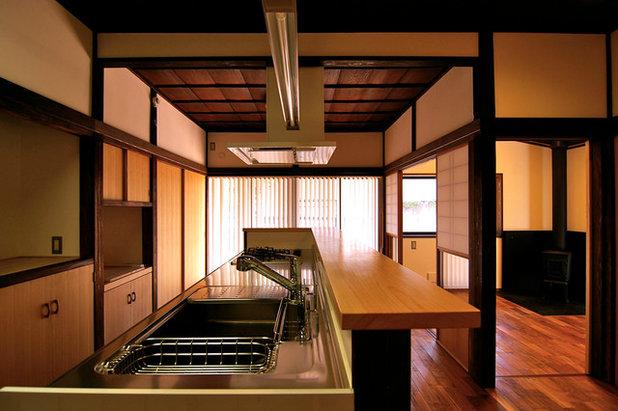 和室・和風 キッチン by 一級建築士事務所 波多周建築設計