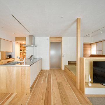 木のマンションリノベーション