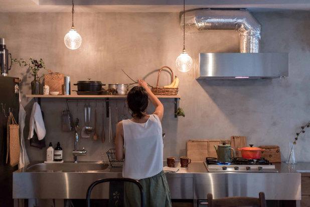 インダストリアル キッチン by 大畠稜司建築設計事務所