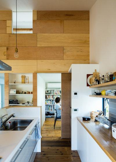 コンテンポラリー キッチン by ツクリト建築設計事務所