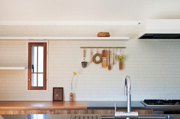 北欧 キッチン by 横山浩之建築設計事務所