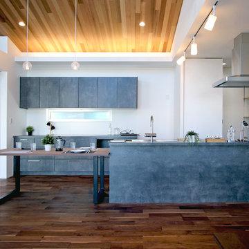 美しく配置したキッチン