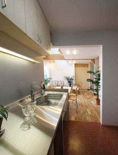 モダン キッチン by 遠藤浩建築設計事務所