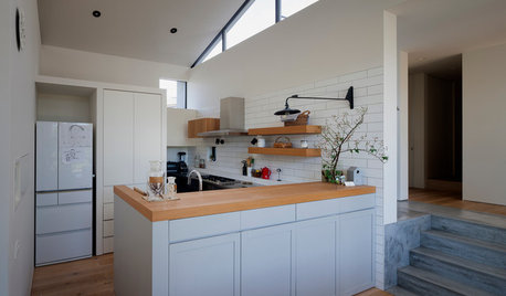 Houzz Tour: A Hillside Family Home with Timber and Concrete Details