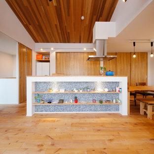 Bild på ett funkis kök