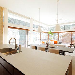 東京23区のモダンスタイルのおしゃれなキッチンの写真
