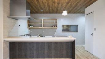 開放的なキッチンへのリノベーション