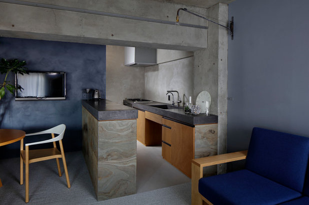 Industrial Cocina by 蘆田 暢人|Ashida Architect & Associates