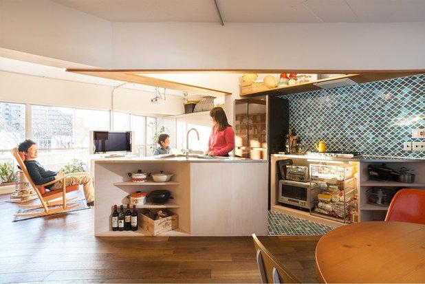 アジアン キッチン by ハンディハウスプロジェクト