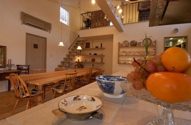 カントリー キッチン by stage Y's 一級建築士事務所