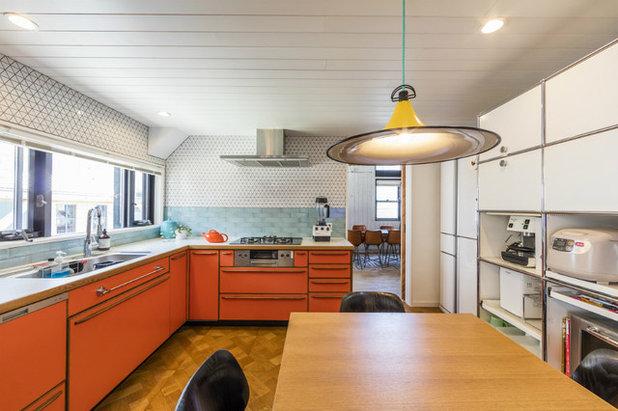 ビーチスタイル キッチン by カリフォルニア工務店