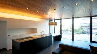 douglas fir kitchen
