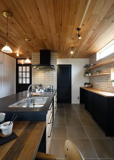 ビーチスタイル キッチン by dwarf