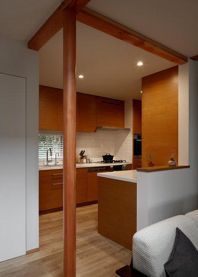 コンテンポラリー キッチン by 長浜信幸建築設計事務所