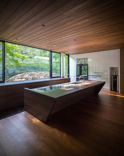 モダン キッチン by 建築設計室アーキスタジオ