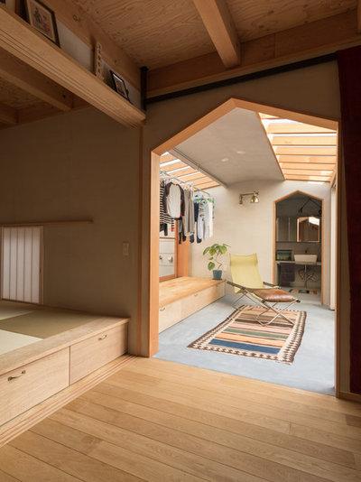 コンテンポラリー サンルーム by 間工作舎/一級建築士事務所
