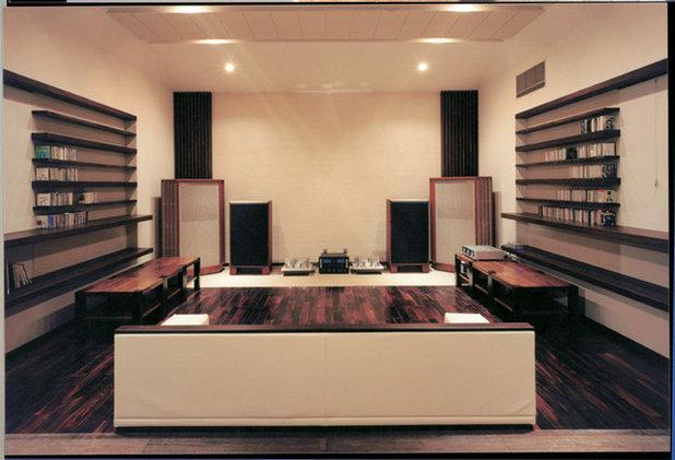 和室・和風 シアタールーム by 豊田空間デザイン室 一級建築士事務所