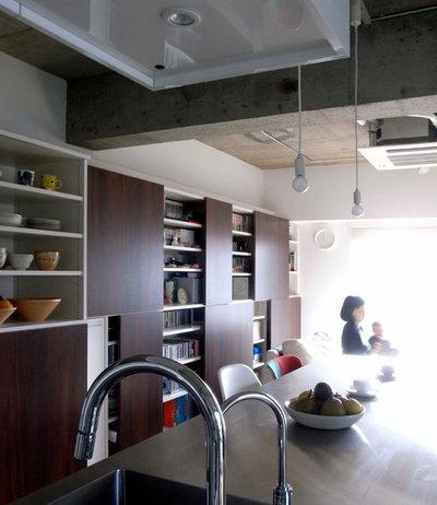 インダストリアル ダイニング by アトリエハコ建築設計事務所