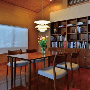 Inspiration for a scandinavian dining room remodel in Other