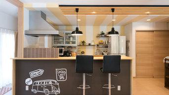 スマイルターナーで楽しくお料理できるキッチン空間♪