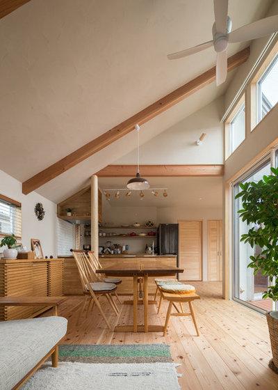 アジアン ダイニング by こばじゅう 自然素材100%で家をつくる横浜の工務店