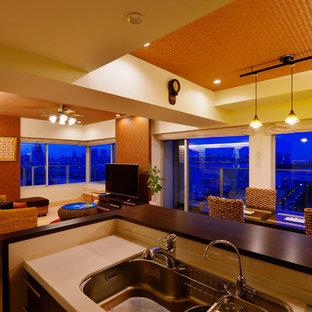 На фото: столовые в восточном стиле