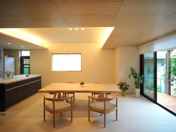 コンテンポラリー ダイニング by えぬぷらす一級建築士事務所