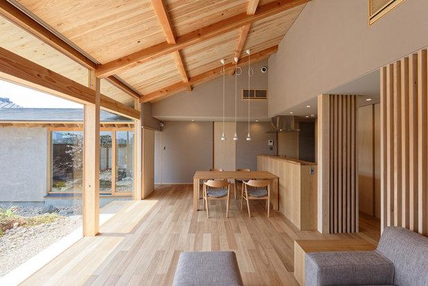 和室・和風 ダイニング by スギエタカシ建築研究所
