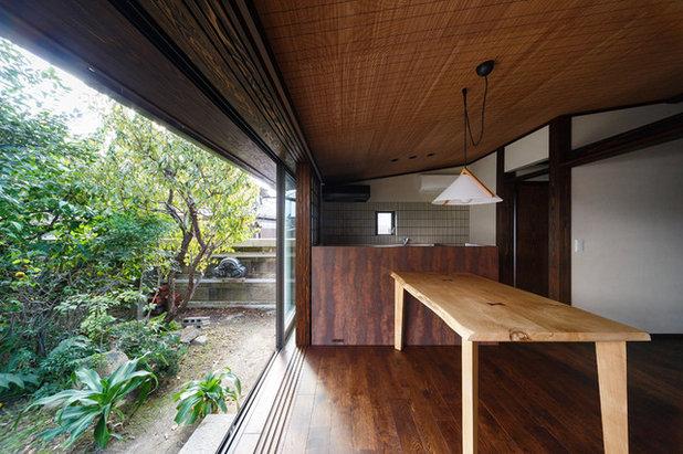 和室・和風 ダイニング by 傳寶慶子建築研究所