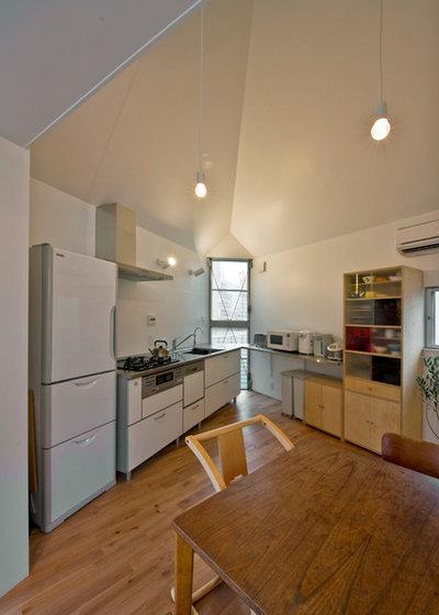 Modern Dining Room by 一級建築士事務所 水石浩太建築設計室