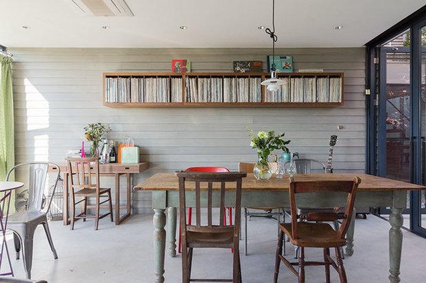 Contemporary Dining Room by Studio CY(株)スタジオ サイ