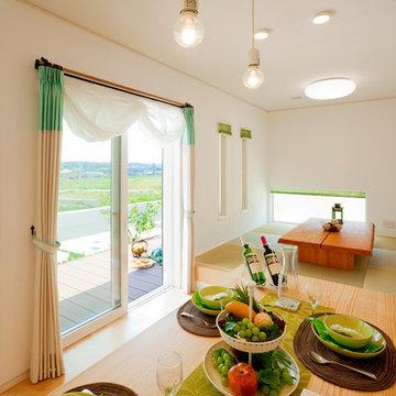 女性の意見で設計・デザインした明るい家